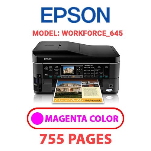 Workforce 645 6 - EPSON Workforce_645 - MAGENTA INK
