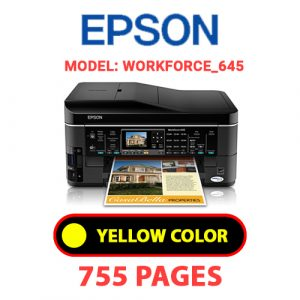 Workforce 645 7 - Epson Printer