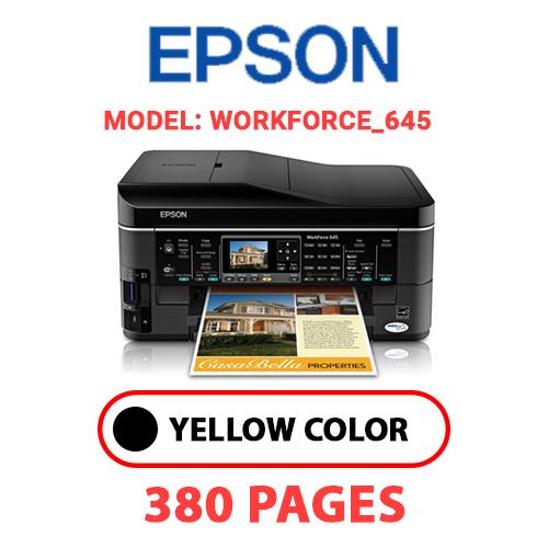 Workforce 645 - EPSON Workforce_645 - BLACK INK