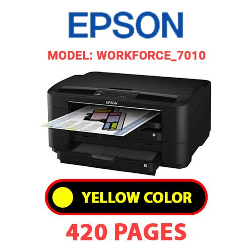 Workforce 7010 3 - EPSON Workforce_7010 - YELLOW INK