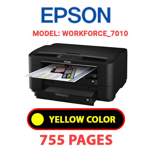 Workforce 7010 7 - EPSON Workforce_7010 - YELLOW INK
