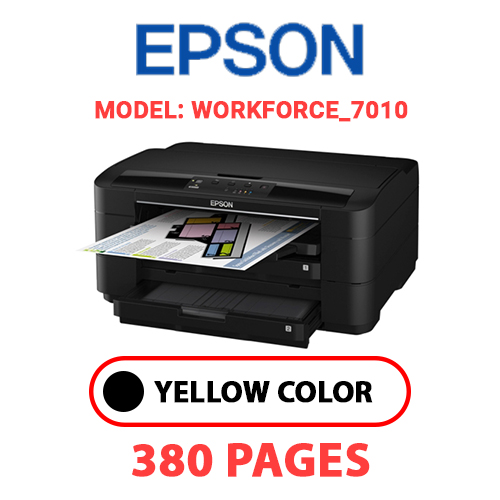 Workforce 7010 - EPSON Workforce_7010 - BLACK INK