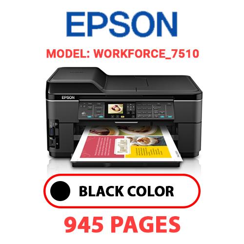 Workforce 7510 - EPSON Workforce_7510 - BLACK INK
