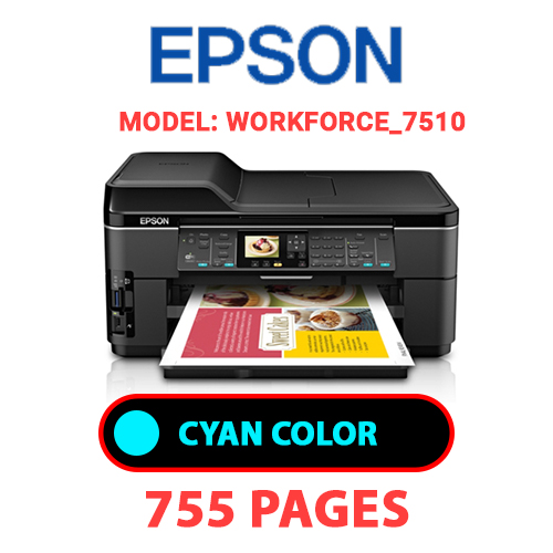 Workforce 7510 1 1 - EPSON Workforce_7510 - CYAN INK