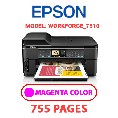 Workforce 7510 1 2 - EPSON Workforce_7510 - MAGENTA INK
