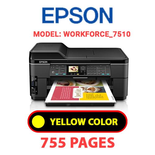 Workforce 7510 1 3 - EPSON Workforce_7510 - YELLOW INK