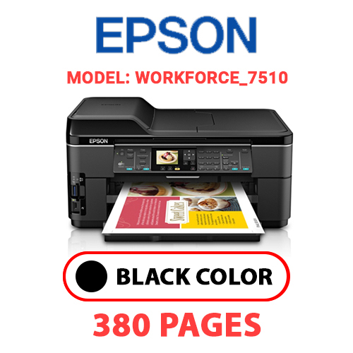 Workforce 7510 4 - EPSON Workforce_7510 - BLACK INK