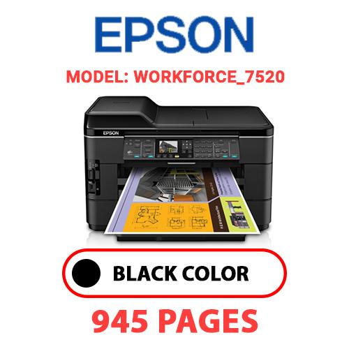 Workforce 7520 - EPSON Workforce_7520 - BLACK INK