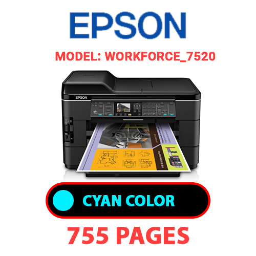 Workforce 7520 1 1 - EPSON Workforce_7520 - CYAN INK
