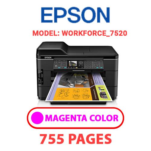 Workforce 7520 1 2 - EPSON Workforce_7520 - MAGENTA INK