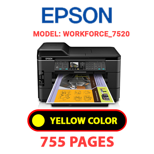 Workforce 7520 1 3 - EPSON Workforce_3520 - YELLOW INK