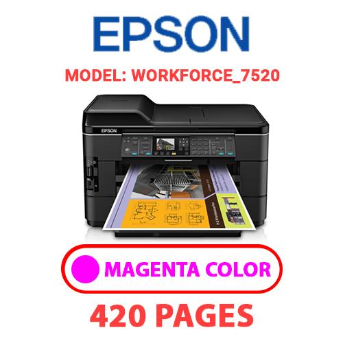 Workforce 7520 1 - EPSON Workforce_7520 - MAGENTA INK
