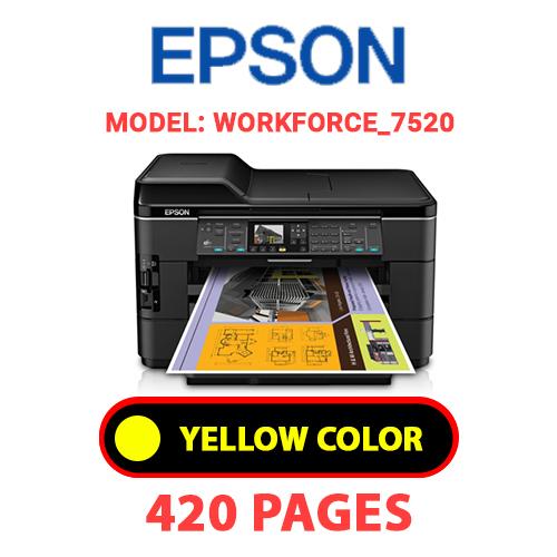 Workforce 7520 2 - EPSON Workforce_7520 - YELLOW INK