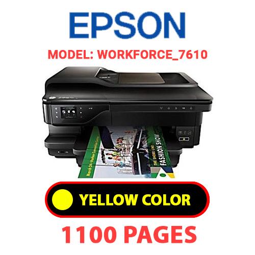 Workforce 7610 4 - EPSON Workforce_7610 - YELLOW INK