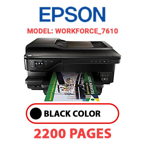 Workforce 7610 - EPSON Workforce_7610 - BLACK INK