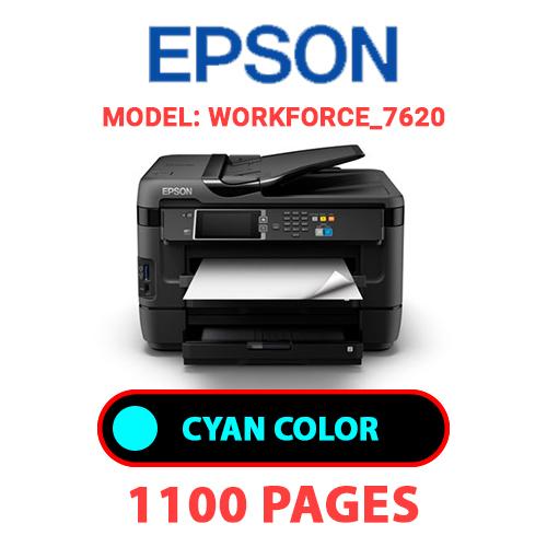 Workforce 7620 2 - EPSON Workforce_7620 - CYAN INK