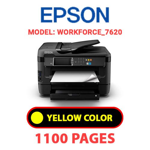Workforce 7620 4 - EPSON Workforce_7620 - YELLOW INK