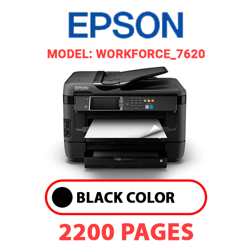 Workforce 7620 - EPSON Workforce_7620 - BLACK INK