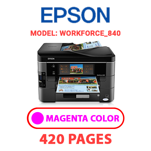 Workforce 840 2 - EPSON Workforce_840 - MAGENTA INK