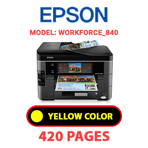 Workforce 840 3 - EPSON Workforce_840 - YELLOW INK
