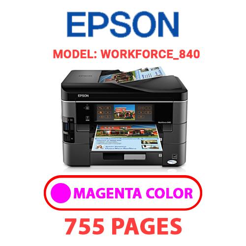 Workforce 840 6 - EPSON Workforce_840 - MAGENTA INK