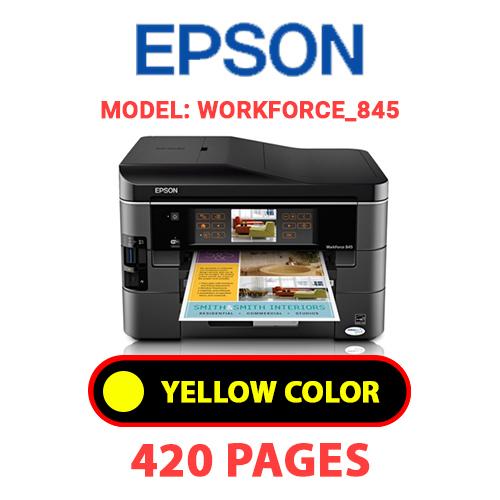 Workforce 845 4 - EPSON Workforce_845 - YELLOW INK