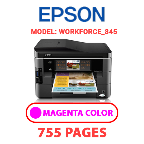 Workforce 845 7 - EPSON Workforce_845 - MAGENTA INK
