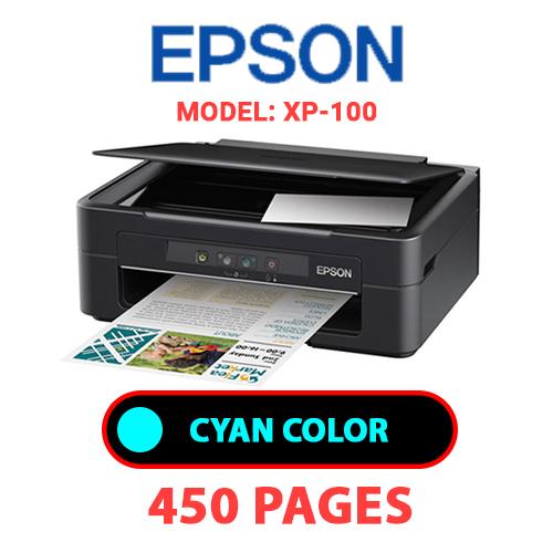 XP 100 1 - EPSON XP-100 PRINTER - CYAN INK
