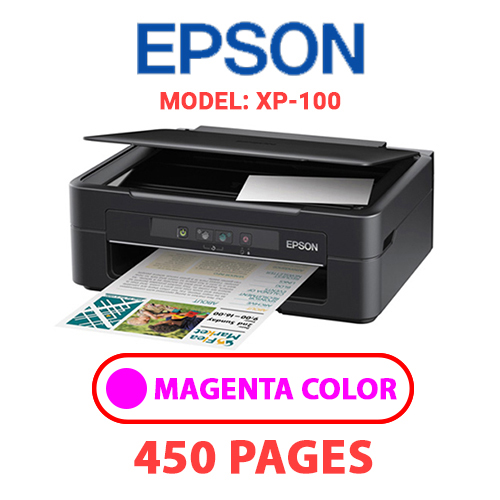 XP 100 2 - EPSON XP-100 PRINTER - MAGENTA INK