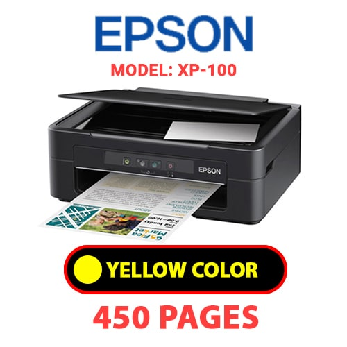 XP 100 3 - EPSON XP-100 - YELLOW INK