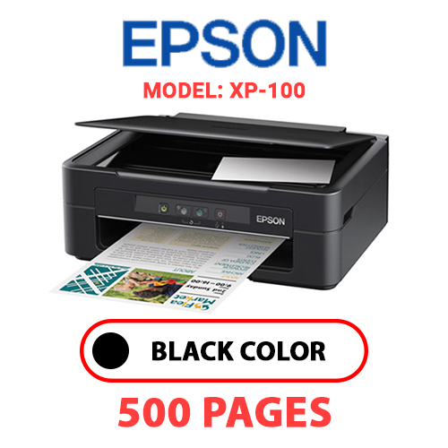 XP 100 - EPSON XP-100 PRINTER - BLACK INK