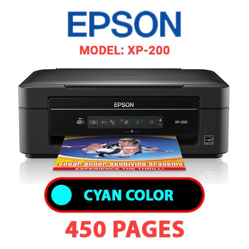XP 200 1 - EPSON XP-200 PRINTER - CYAN INK