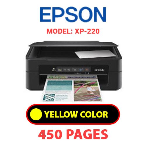 XP 220 3 - EPSON XP-220 - YELLOW INK