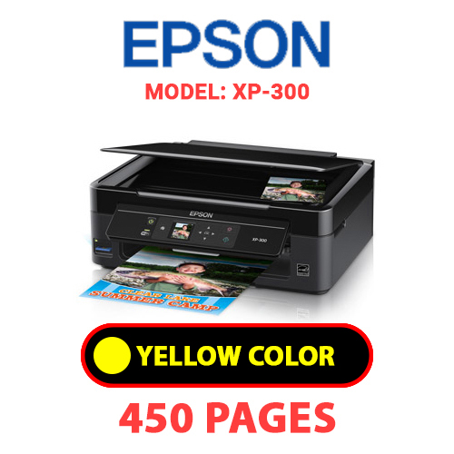 XP 300 3 - EPSON XP-300 - YELLOW INK