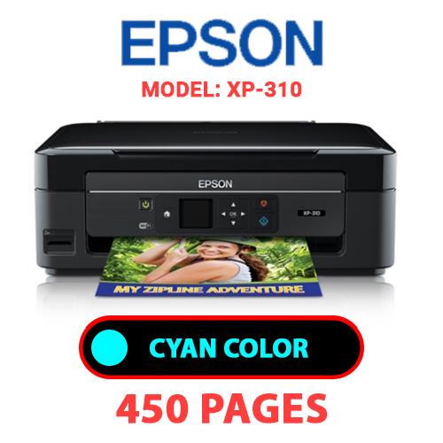 XP 310 1 - EPSON XP-310 PRINTER - CYAN INK
