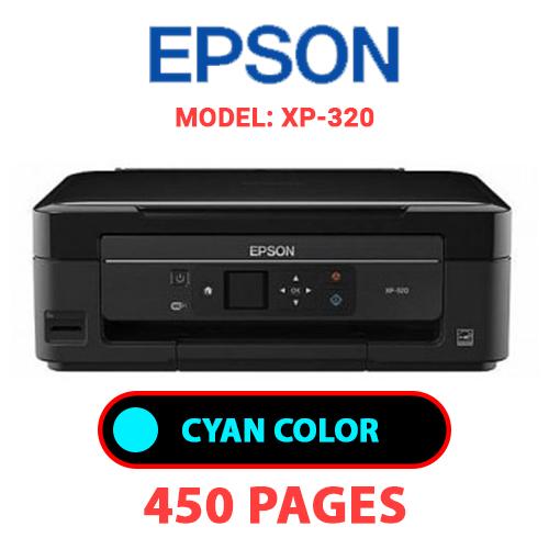 XP 320 1 - EPSON XP-320 - CYAN INK