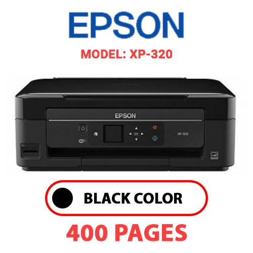 XP 320 - EPSON XP-320 - BLACK INK