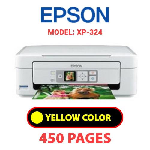 XP 324 3 - EPSON XP-324 - YELLOW INK