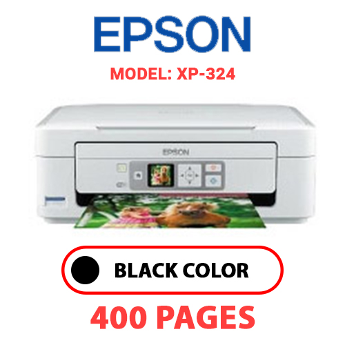 XP 324 - EPSON XP-324 - BLACK INK
