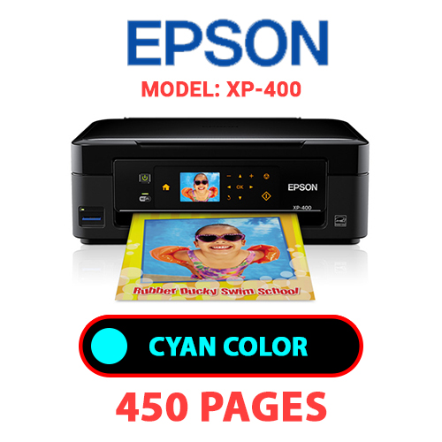 XP 400 1 - EPSON XP-400 PRINTER - CYAN INK