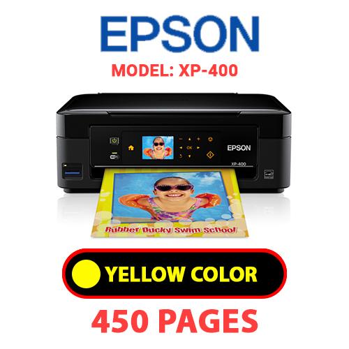 XP 400 3 - EPSON XP-400 - YELLOW INK
