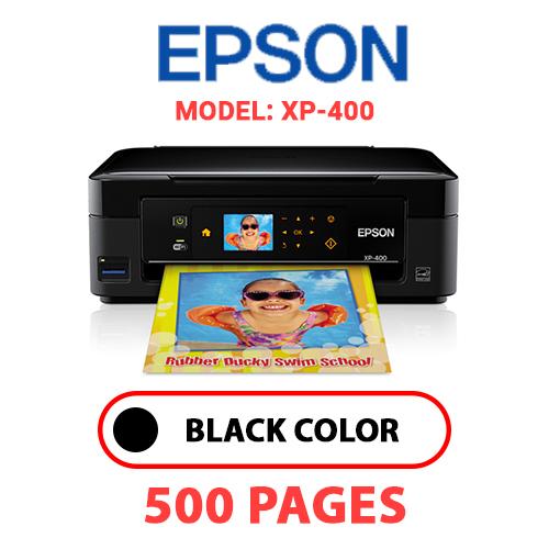 XP 400 - EPSON XP-400 PRINTER - BLACK INK