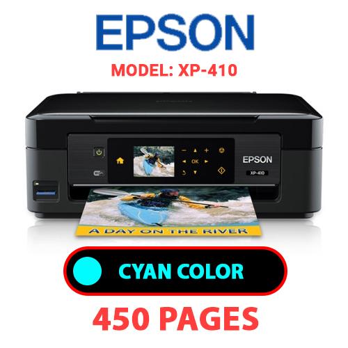 XP 410 1 - EPSON XP-410 PRINTER - CYAN INK