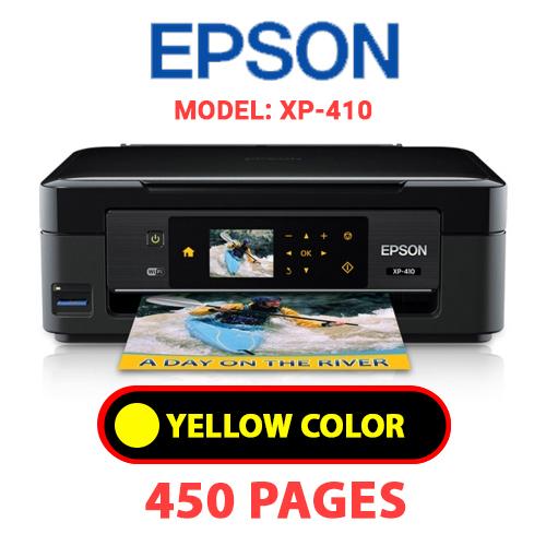 XP 410 3 - EPSON XP-410 - YELLOW INK