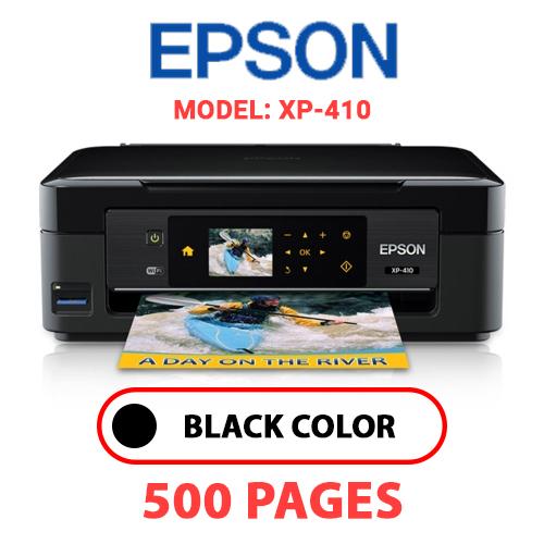 XP 410 - EPSON XP-410 PRINTER - BLACK INK