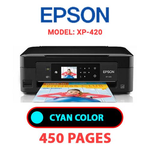XP 420 1 - EPSON XP-420 - CYAN INK