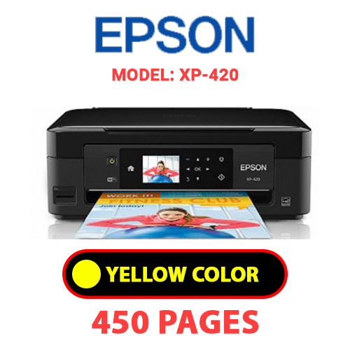 XP 420 3 - EPSON XP-420 - YELLOW INK