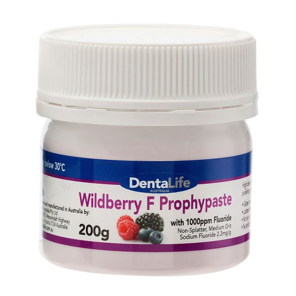 berry - Optum F Prophy Paste With Fluoride (Wild Berry) 200g Jar – Dentalife