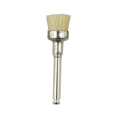 brush - Prophy Brushes RA Natural Bristles(144/pkt)