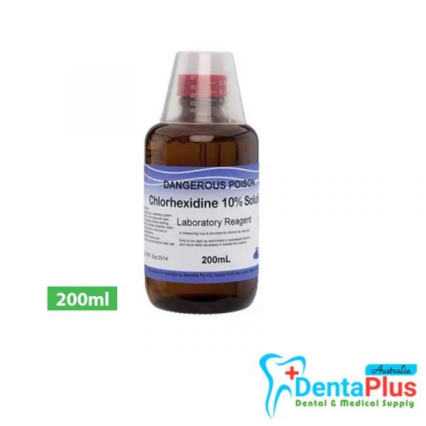 - Chlorhexidine - 10% 200ml
